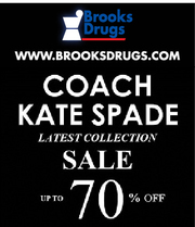 BROOKS DRUGS STORES THE BEST IN RETAIL 50% SALE